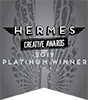 Hermes Creative Awards 2019 Platinum Winner