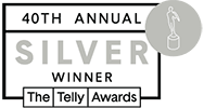 40th Annual Telly Awards Silver Winner