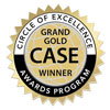 Grand Gold Case Winner - Circle of Excellence Awards Program
