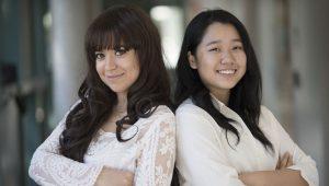 Marwa Mhtar and Su Yeon Kim