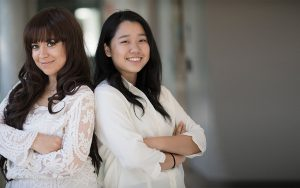 Marwa Mhtar and Su Yeon Kim