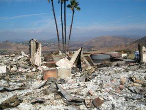 California Wildfires damage