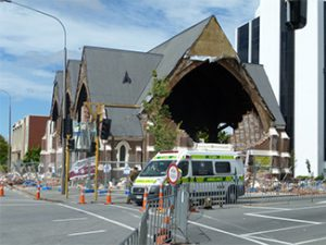 New Zealand Earthquake building damage