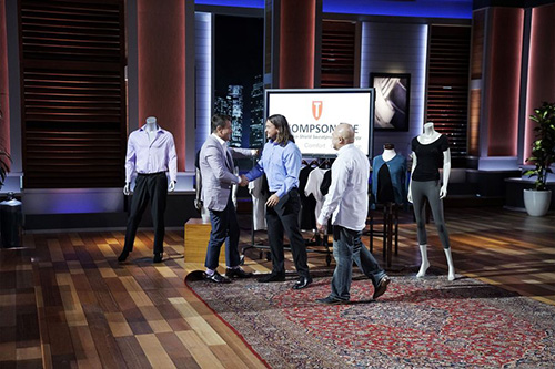 Billy Thompson and Randy Choi on Shark Tank